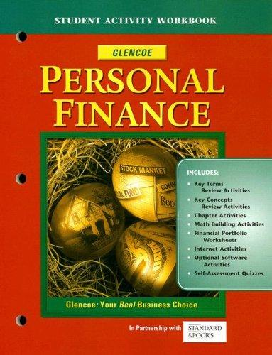 Personal Finance, Student Activity Workbook