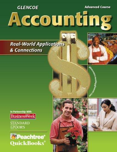 Download Glencoe Accounting Advanced Course, Student Edition