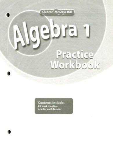 Download Algebra 1, Practice Workbook