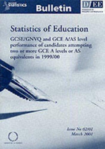 Download Statistics of Education (National Statistics Bulletin)