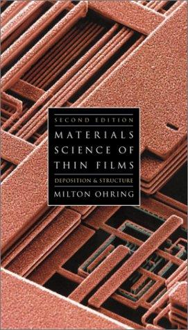 Download The Materials Science of Thin Films