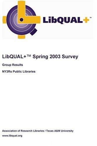 Download LibQUAL+ Spring 2003 Survey Group Results