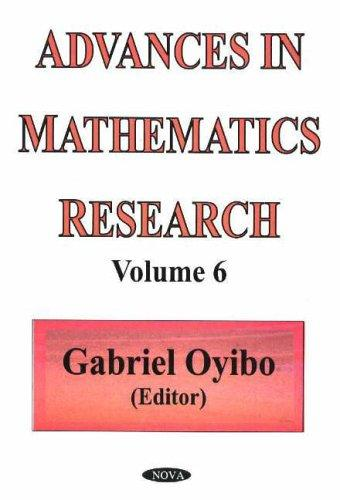 Download Advances in Mathematics Research