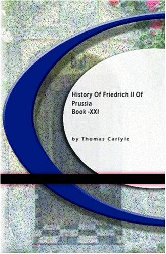 Download History Of Friedrich II of Purssia