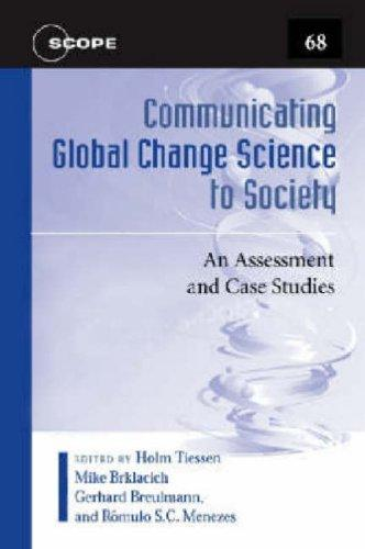 Download Communicating Global Change Science to Society