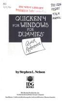 Download Quicken 4 for Windows for dummies