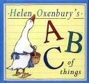 Download Helen Oxenbury's ABC of things.