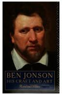 Ben Jonson, his craft and art
