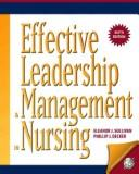 Download Effective leadership and management in nursing