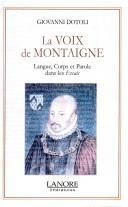 Download La voix de Montaigne