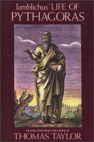 Iamblichus' Life of Pythagoras, or, Pythagoric life