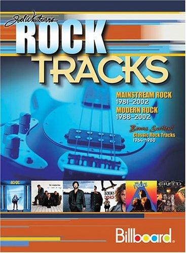 Joel Whitburn's rock tracks
