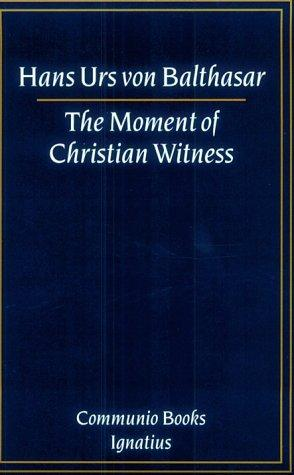 Download The moment of Christian witness