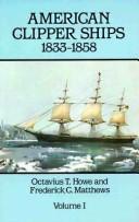 American clipper ships, 1833-1858