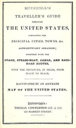 Download Mitchell's traveller's guide through the United States