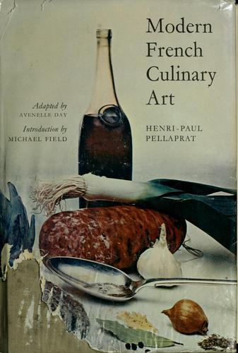 Modern French culinary art.