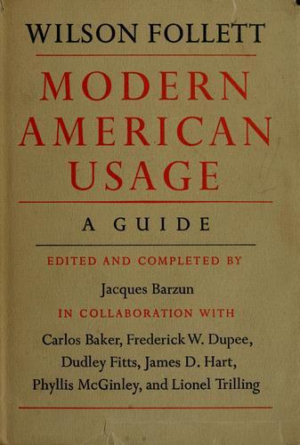 Download Modern American usage