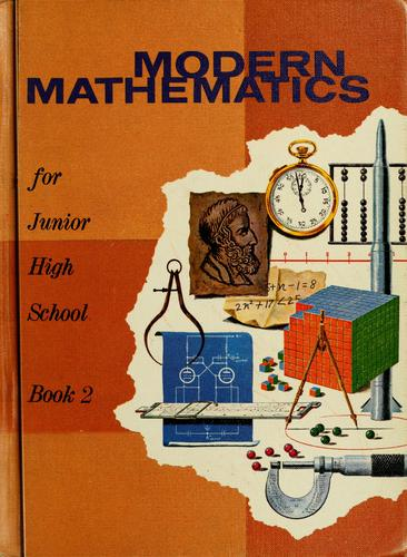 Modern Mathematics for junior high school by Myron Frederick Rosskopf