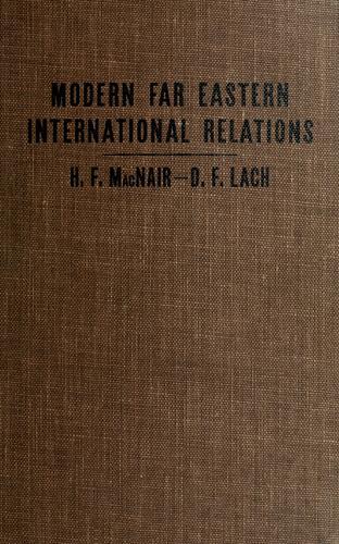 Download Modern Far Eastern international relations