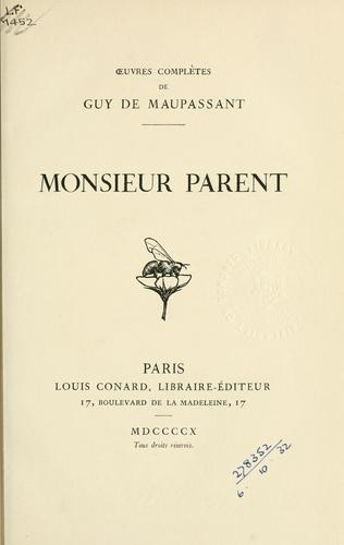 Download Monsieur Parent.