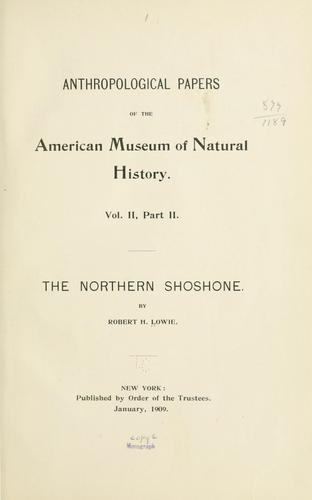The northern Shoshone.