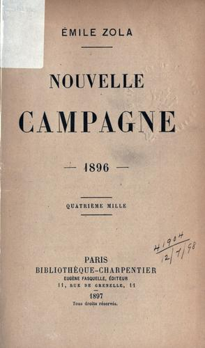 Download Nouvelle campagne, 1896.