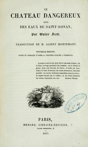 Download uvres de Walter Scott