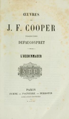 Download Oeuvres de J.F. Cooper