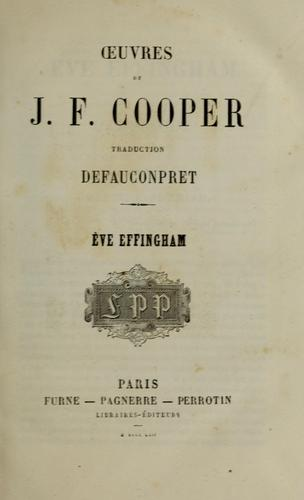 Download Oeuvres de J.F. Cooper