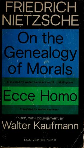 On the genealogy of morals.