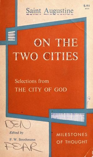 On the two cities by Augustine of Hippo