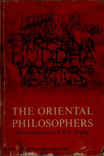 Download The Oriental philosophers