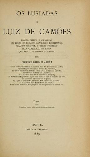 Os Lusiadas de Luiz de Camões.