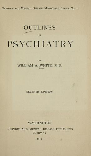Download Outlines of psychiatry.