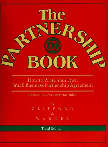 The partnership book