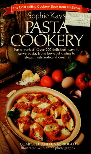 Pasta cookery by Sophie Kay