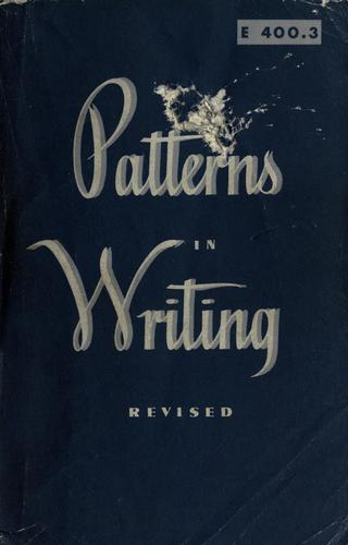 Patterns in writing