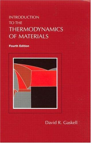 Download Introduction to the thermodynamics of materials