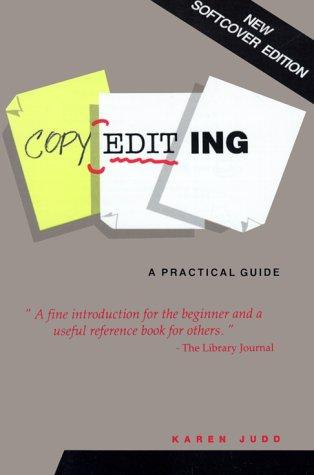 Copyediting, a practical guide