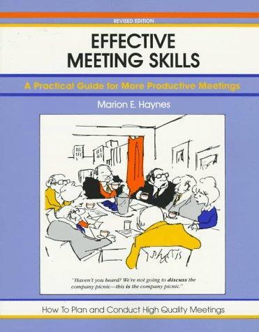 Download Effective meeting skills