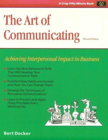 Download The art of communicating