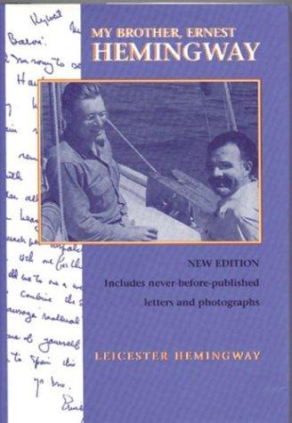 Download My Brother, Ernest Hemingway