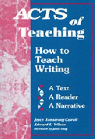 Download Acts of teaching