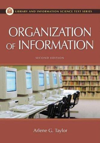 Download The organization of information