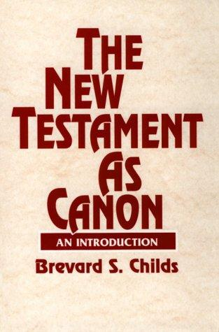 Download The New Testament as canon
