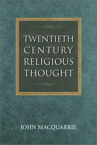 Download Twentieth-century religious thought