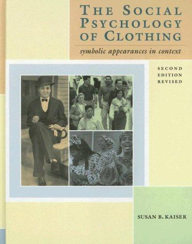 Download The social psychology of clothing