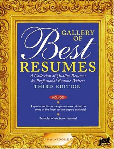 Download Gallery of Best Resumes