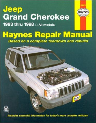 Jeep Grand Cherokee automotive repair manual