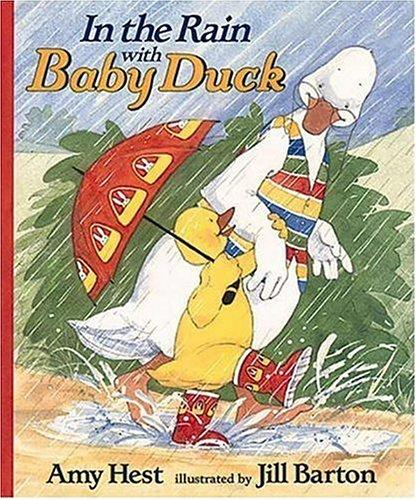 In the rain with Baby Duck
